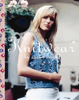 The front cover of 'Knitwear', Sasha Kagan's 2008 book