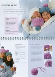 pages 36 and 37 of Knitting for Beginners book