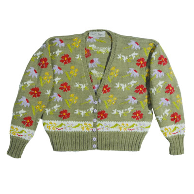 Wildflower Cropped Cardigan