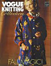 Vogue Knitting with Sasha Kagan design on cover